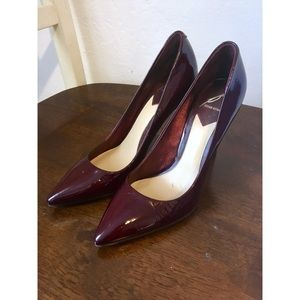 B Brian Atwood Naina Leather Pumps